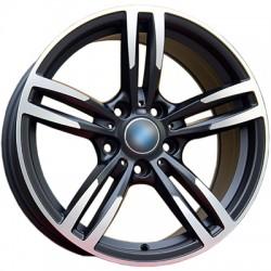Alufelgi 8.5x18 ET33 5x120 Carbonado Dimond  BMW Grafitowe