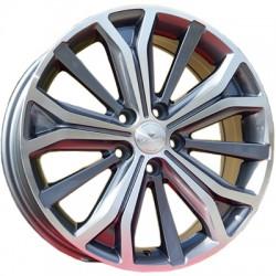Alufelgi 7 X 17'' ET46 5X108 Carbonado Majestic BK591 Ford