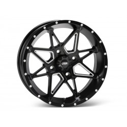 ITP TORNADO 1721959727B 17x7 5+2 4/115 Matte Black with milled